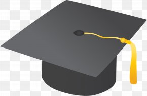 Graduation Cap - Square Academic Cap Graduation Ceremony Hat Clip Art PNG