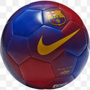 Fc Barcelona - FC Barcelona Football Nike La Liga PNG