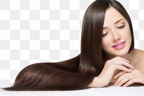 Long Hair Beauty - Hair Straightening Artificial Hair Integrations Hairstyle Brown Hair PNG