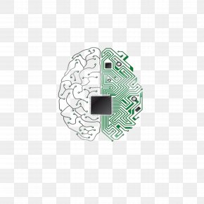 Brain Chip - Brain Electronic Circuit Central Processing Unit Integrated Circuit Printed Circuit Board PNG
