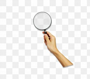 Holding A Magnifying Glass - Magnifying Glass Euclidean Vector 3D Computer Graphics PNG