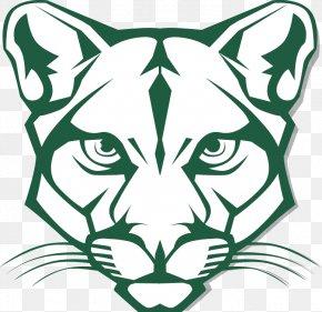 Cougar Head Cliparts - Blackhawk School District Washington State University Blackhawk High School Cougar Mascot PNG