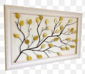 Leaf - Floral Design Branch Leaf Tree Picture Frames PNG