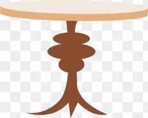 Vector Tables - Interieur Graphic Designer Illustration PNG