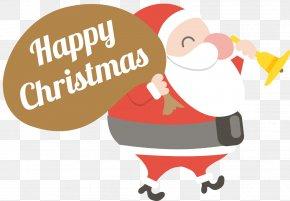 Merry Christmas Santa Claus Vector - Santa Claus Christmas Clip Art PNG