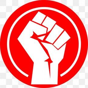 Revolution Fist - Logo Raised Fist Clip Art PNG