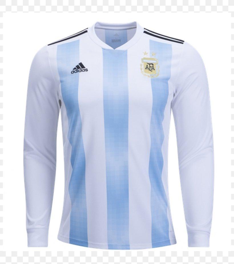 2018 FIFA World Cup Argentina National Football Team T-shirt Copa América Jersey, PNG, 800x926px, 2018 Fifa World Cup, Active Shirt, Adidas, Argentina At The Fifa World Cup, Argentina National Football Team Download Free