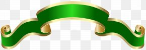 Banner Green Deco Clip Art Image - Banner Clip Art PNG