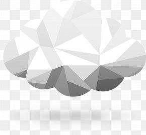 Irregular Geometric Clouds - Geometry Cloud Geometric Shape PNG