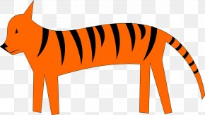 Tiger Tail - Clip Art Borders And Frames Stock.xchng Image Cartoon PNG