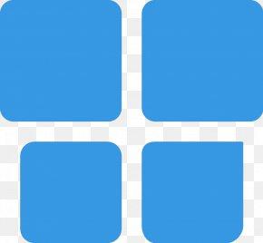 Windows Logos - Electric Blue Aqua Azure Teal PNG