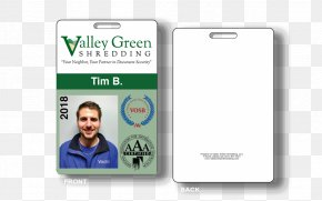 Id Card Design - Identity Document Smartphone Photo Identification Business PNG