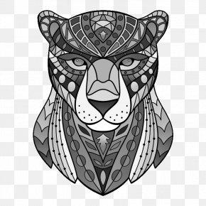 Tiger - Tiger Whiskers Cat Visual Arts Illustration PNG