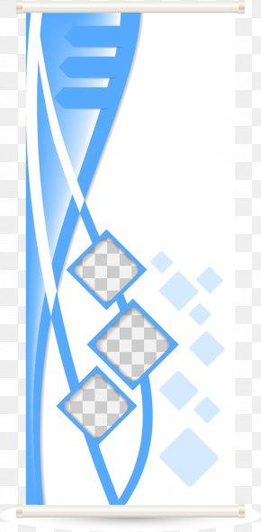 Vector Creative Roll Up Display Rack Creative - Adobe Illustrator Illustration PNG
