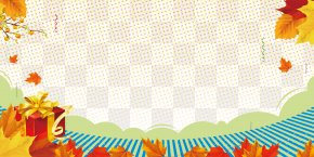 Autumn Leaves Background Maple - Autumn Poster Fundal PNG