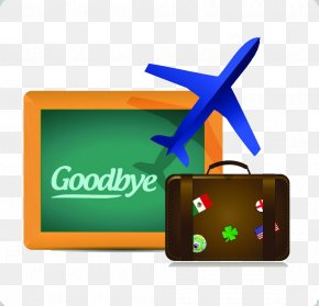 Goodbye Icon - Flight Air Travel Clip Art PNG