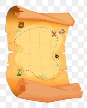 Treasure Map - Treasure Map Treasure Hunting PNG