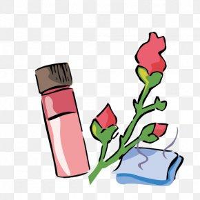 Rose Essential Oil - Beach Rose Towel Essential Oil Rose Oil Clip Art PNG
