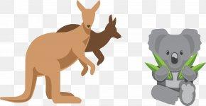 Australian Kangaroo Koala - Australia Euclidean Vector Icon Design Icon PNG
