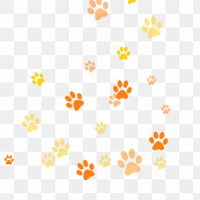 Cartoon Footprints - Dog Grooming Puppy Cat Paw PNG