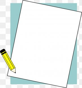 Pencil Frame Cliparts - Microsoft Word Document File Format Icon PNG