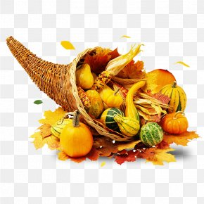 Bamboo Basket Of Yellow Squash - Thanksgiving Day Prayer Blessing Family PNG