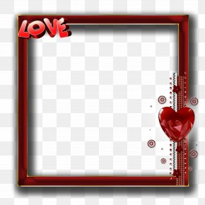 Love Frame - Picture Frame Photography Love PNG