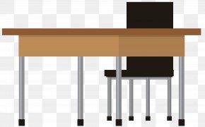 School Desks Clip Art Image - Standing Desk Office Clip Art PNG