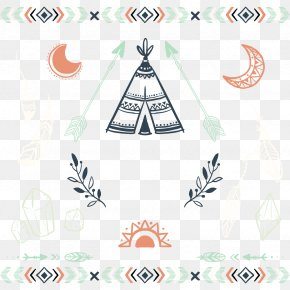 Vector Tribal Culture - Bohemia Euclidean Vector Tribe Poster Illustration PNG