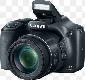 Digital Camera - Canon Point-and-shoot Camera Zoom Lens Superzoom PNG