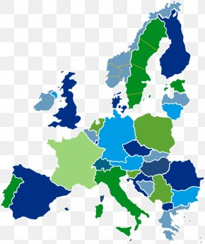 Map - Member State Of The European Union Germany Map PNG
