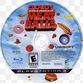 Cloudy With A Chance Of Meatballs - Cloudy With A Chance Of Meatballs Xbox 360 PlayStation 3 Compact Disc PNG