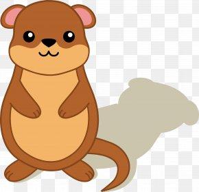 Brown Bear Marmot - Groundhog Day PNG