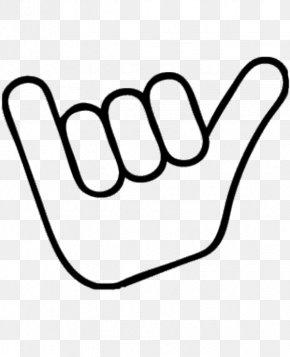 Hawaiian Hands Cliparts - Hawaii Shaka Sign Symbol Clip Art PNG