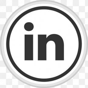 Social Media - LinkedIn Social Media Icon Design PNG