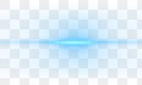 Flare Lens Image - Light Blue PNG