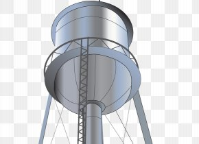 Water Tower - Water Tower Water Tank Clip Art PNG