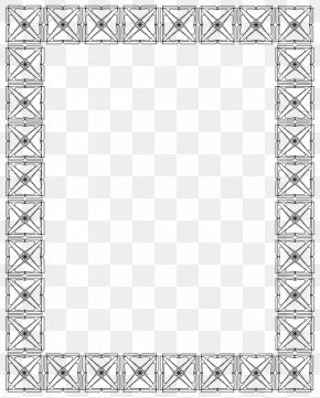 Frame Outline Cliparts - Picture Frame Mirror Clip Art PNG