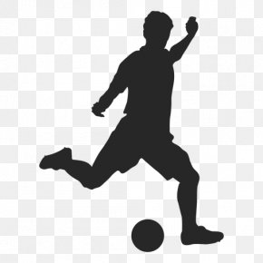 Soccer Player - Sport Football Player Silhouette Wall Decal PNG