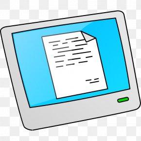 Computer Clip Art - Touchscreen Clip Art PNG