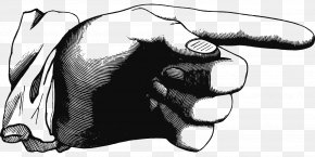 Pointing - Index Finger Hand Clip Art PNG